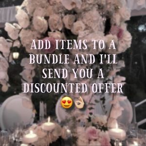 Other - Bundle multiple items for special discounts!